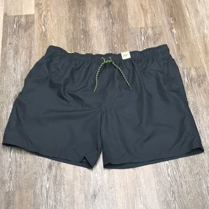 Men's OP swim trunks 3XL grey lined